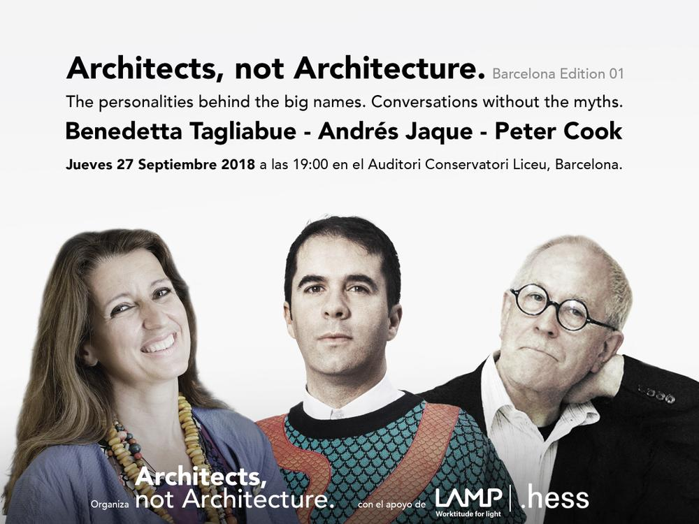 Architects, not Architecture ok Peter Cook