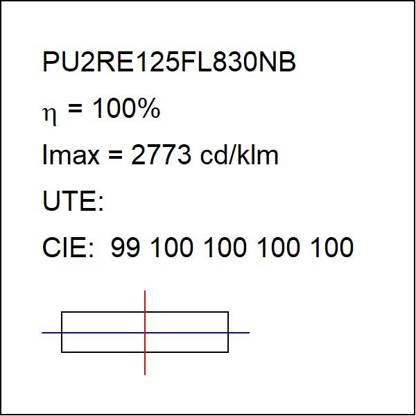 Puzzle G2 Ind 2500 Ww Fl Bk Pu2re125fl830nb Lighting
