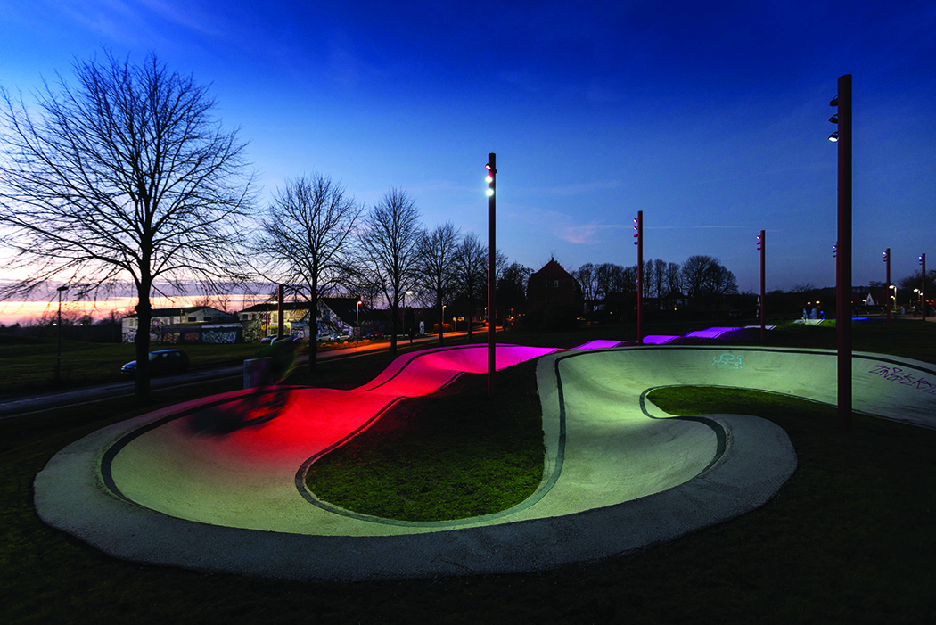 Lamp Awards 2019 Outdoor Lighting winner - The Musicon Path 01