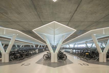 Lamp Awards 2019 Finalist - Strawinskylaan Bicycle Park