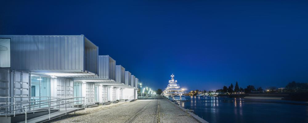 Terminal de Cruceros del Puerto de Sevilla
