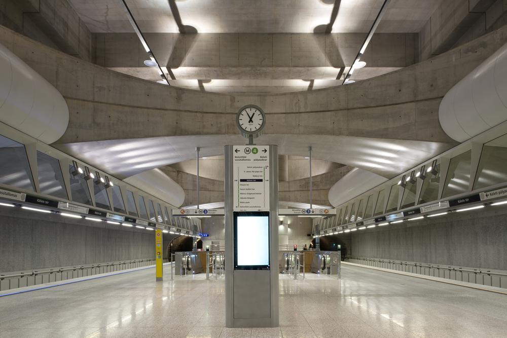 Metro M4 Kálvin Square