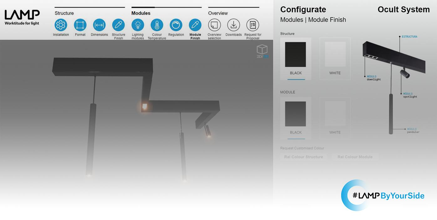 portada Ocult System Configurator by Lamp