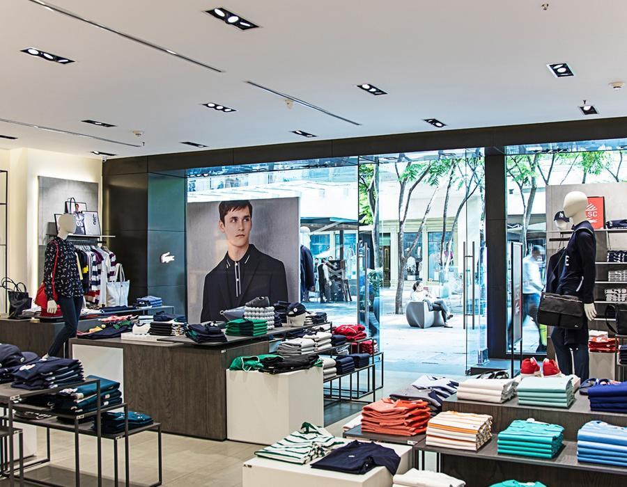 iluminación y sector retail