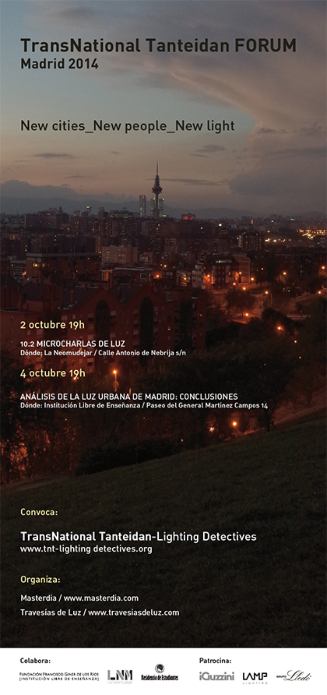 TNT Lighting Detectives 2014 Madrid