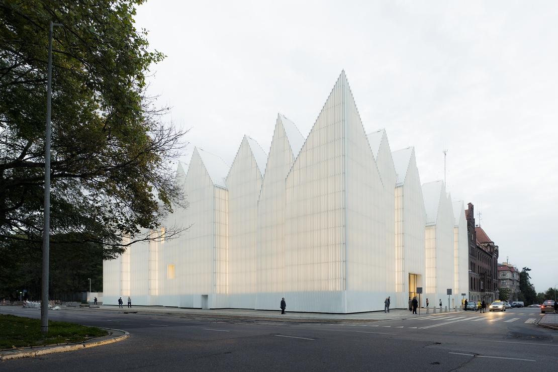 Szczecin Philharmonic, Poland; by Barozzi Veiga Studio