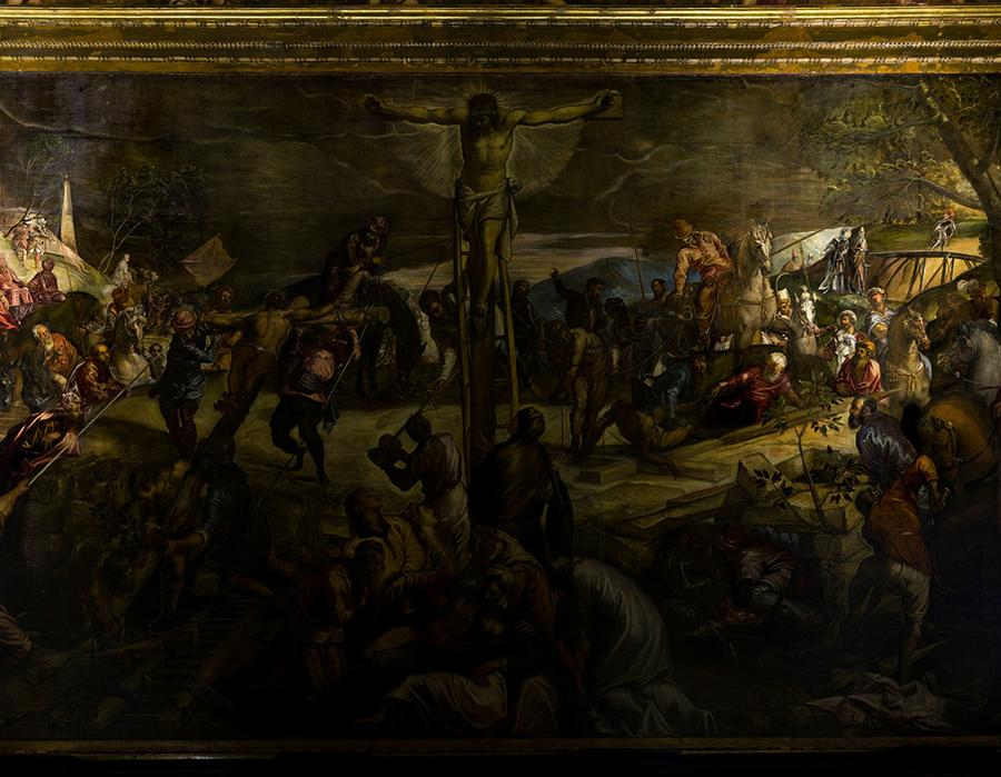 Tintoretto in motion: art and architecture lighting, Italy; by Alberto Pasetti Bombardella