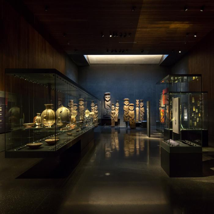 Chilean Museum of Pre-Columbian Art, Chile; by Limarí Lighting Design