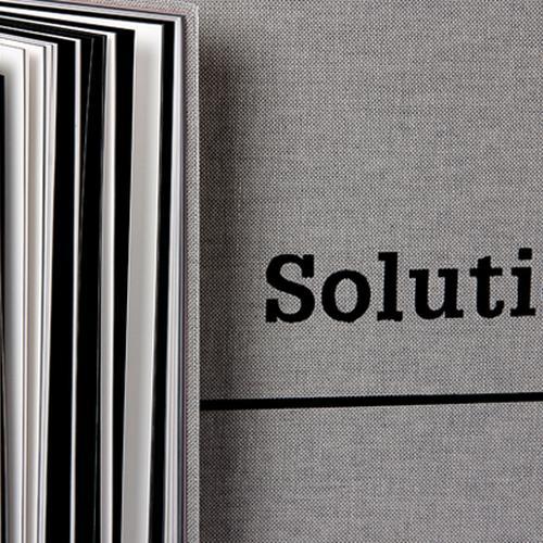 Solutions 01 portada