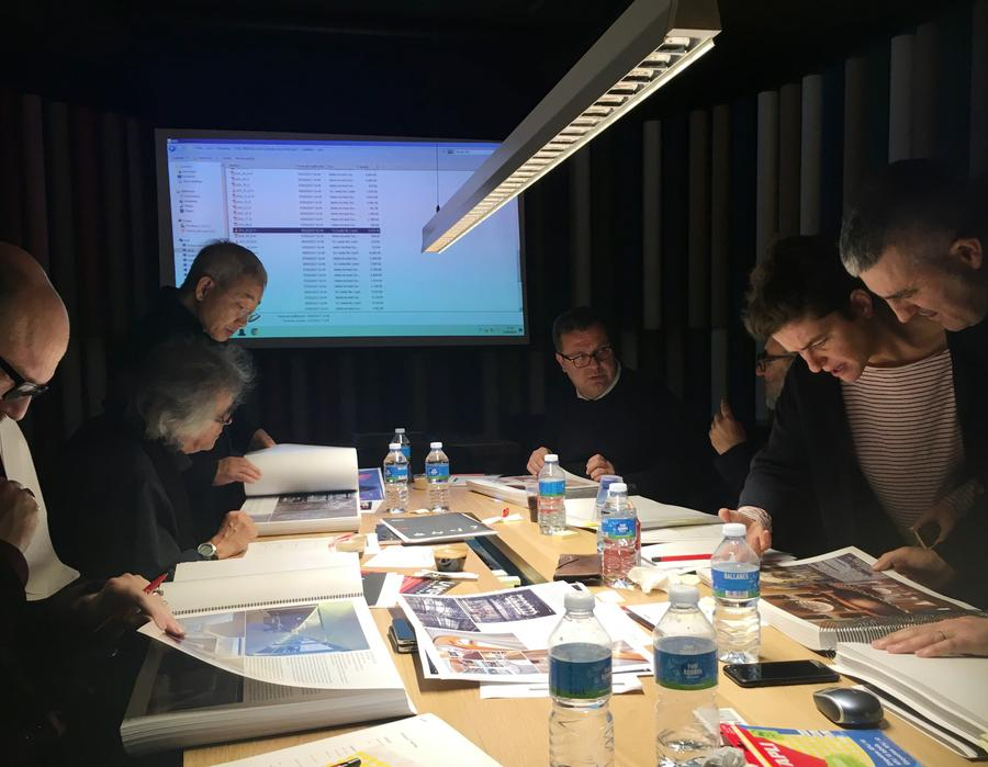premios 2017 - 1st jury meeting 1