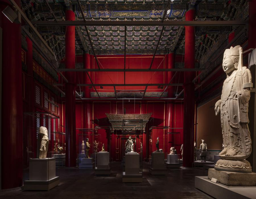 The Palace Museum Sculpture Gallery_photo by  Zhou Li