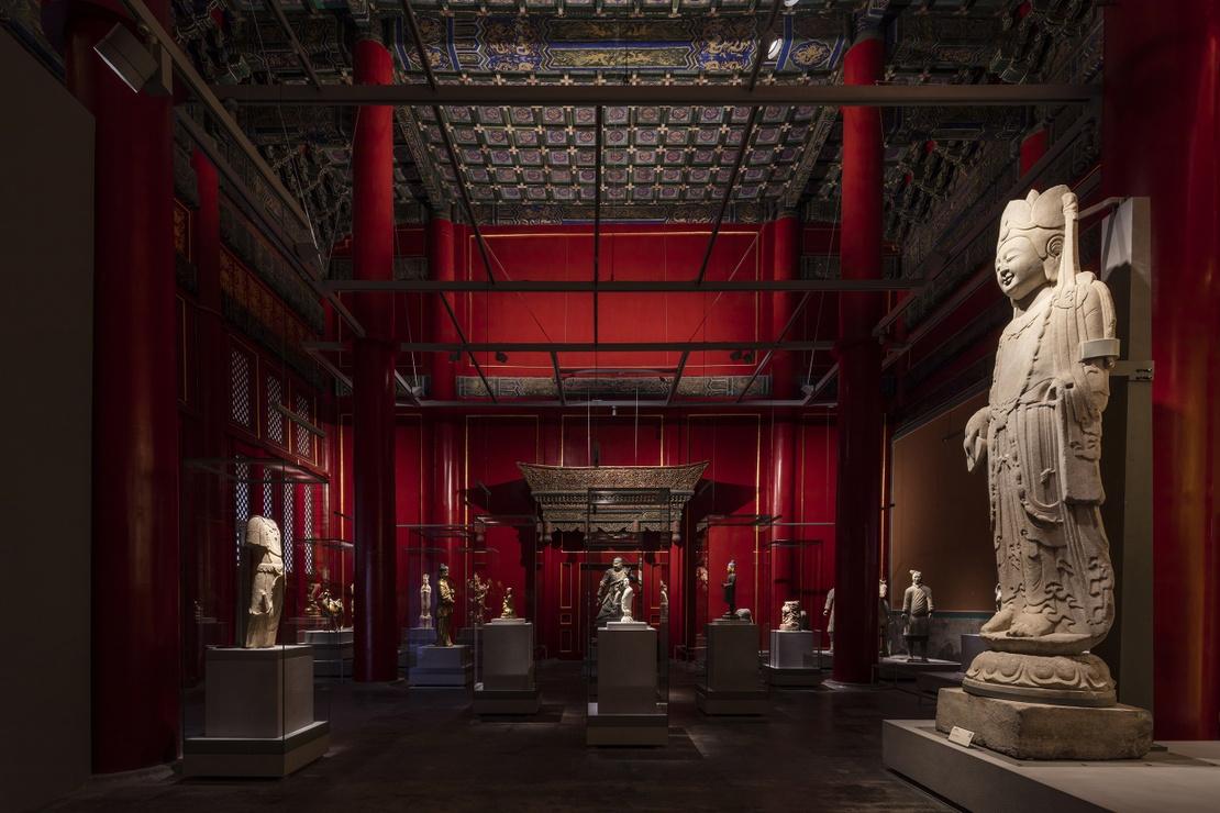 The Palace Museum Sculpture Gallery_photo by  Zhou Li
