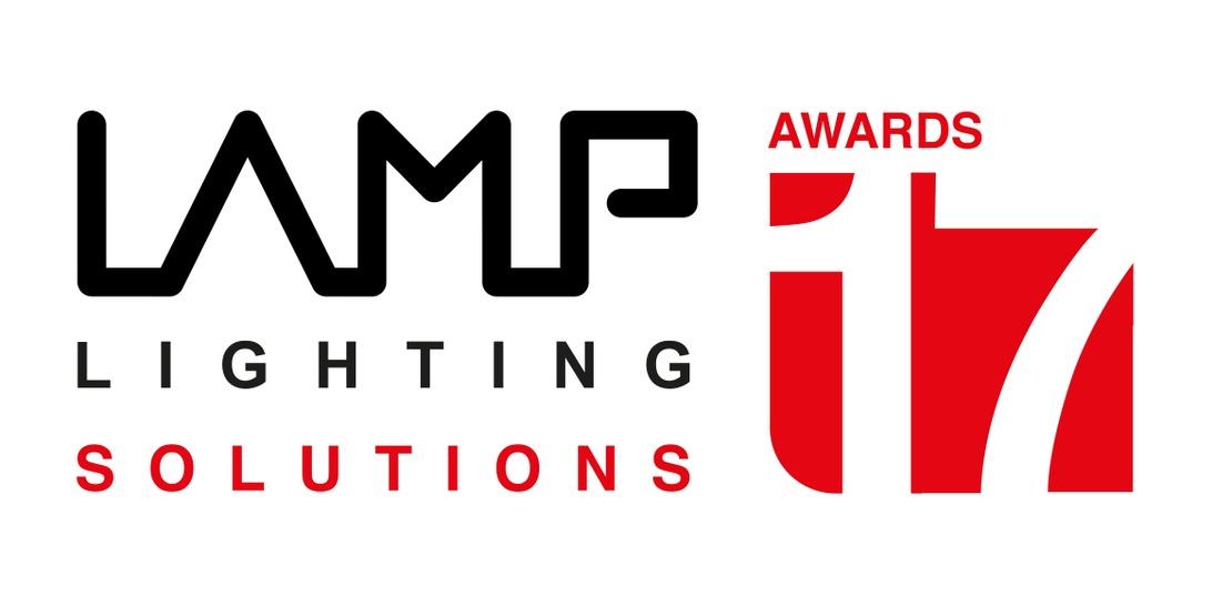 Lamp Lighting Solutions Awards 2017 white logo
