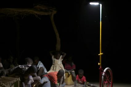 Collective Light for Rural Africa bambini