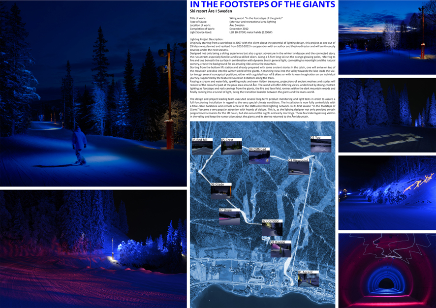 """In the footsteps of the giants"" - skiing resort, lamina"