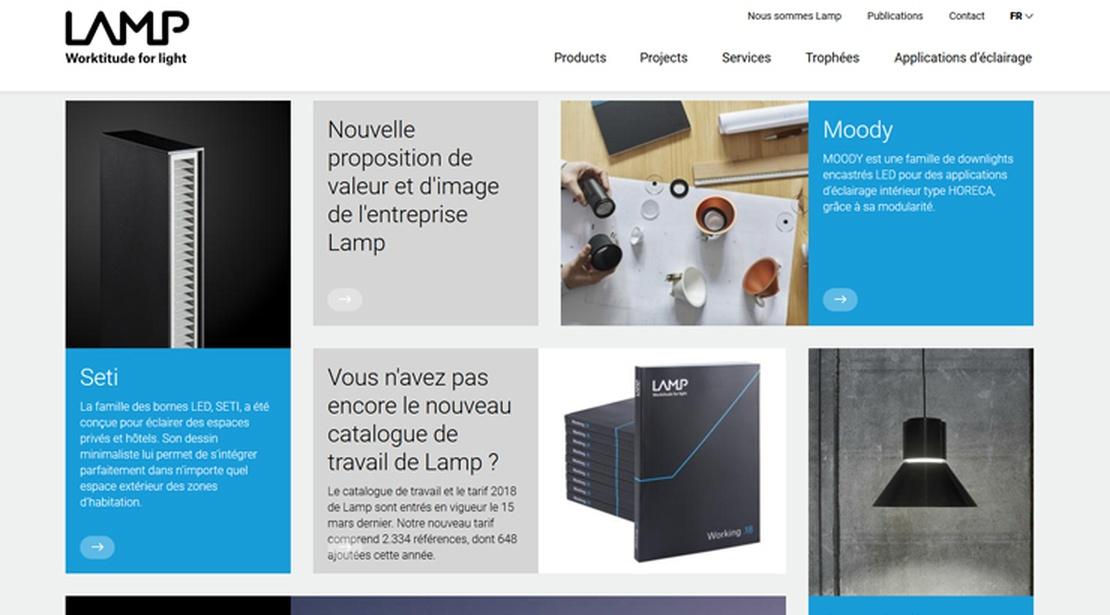 Web Lamp FR